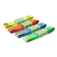 Wholesale New Arrivals The Amount Of Clothing Tape Measures Gauging Tools Plastic Stainless Steel Size CM JH50