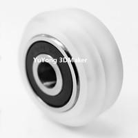 Wholesale Polycarbonate Soild v extreme wheel kits for v slot linear rail system set with