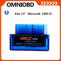 For Jaguar elm 327 - Mini V2 ELM327 ELM OBD2 Bluetooth Interface Auto Car Scanner obdii obd ii Diagnostic Tool works on Android Windows Symbian Features