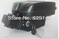 Wholesale Electric bike battery V W motor V AH Li ion Battery with Case BMS and US EU UK Charger
