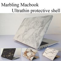 Wholesale Newest Cool Fashion Marble Texture Matte Case Funda Cover For Macbook Air Pro Retina inch laptop Cases bag