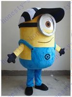 Caldo di alta qualità di vendita cattivissimo me minion mascotte costume per adulti cartoon mascotte personalizzate