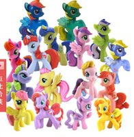 Wholesale 18 OFF NEW ARRIVAL Details about My little pony Loose Action Figures toy CM Pony Littlest Figure Xmas Gift For Kids GH