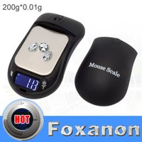 Scales Jewelry Tools & Equipments Yes Foxanon Brand Mouse Scales 200g 0.01g 200G-0.01 Portable Digital Jewelry scale 0.01 gram Precision