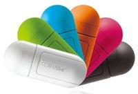 360 grados de vibración portátil X -Vibe Boom superficie Resonancia Speaker Box Altavoces Universales reproductor de mp3 para iPhone5 / 5s SamsungS4 / LG Lenove