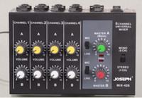 Wholesale Top Quality Professional Switchable Stereo Channel Mono Channels JOSEPH MIX428 Microphone Audio Mixer Console