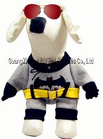batman dog shirt - Dog D Batman Sweater Puppy Warm Coat T Shirt Pet Clothes Dog Apparel Free amp Drop Shipping