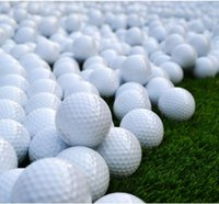 Wholesale golf practice balls layer brand new golf balls golf ball driving range dedicated Practicing balls