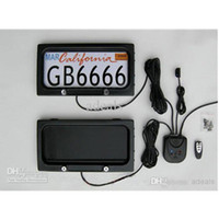 Wholesale USA Size Metal material remote Car License Plate Holder