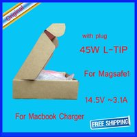 Wholesale free ship Good quanlity w for magsafe1 l tip for macbook pro w adapter a1344 power adapter