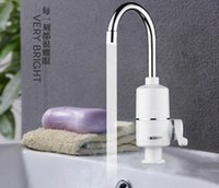Wholesale F hot oh shipping water heater B A T and room faucet KIT CHEN FAU CET ONE second that ISO UT of hot water