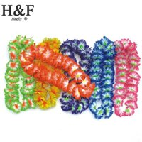wedding decorations wreath supplies - Silk Artificial Flowers Party supplies hawaiian flower lei garland hawaii wreath cheerleading products hawaii necklace Manufacturer HH0004