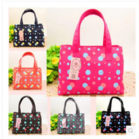 Wholesale 2015 new colors Dot Pattern Mother Baby Products Shoulder Bag Waterproof canvas fabric Large Capacity storage diaper bags backpacks R0981