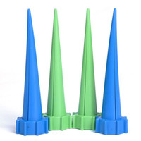 Wholesale 4Pcs Garden Cone Watering Spike Plant Flower Waterers Bottle Irrigation System Accessories Y60 JJ1003 M5