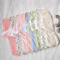 menstrual pads - Hot Sales Random Color Cotton Menstrual Pad Recyclable Washable Cloth Menstrual Liner Sanitary Mom Soft Pad CM YT0095 salebags