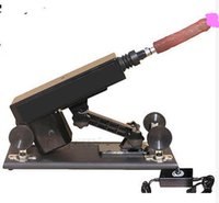 Cheap Sex machine adjustable speed mute Thrusting machine sex gun, electric
