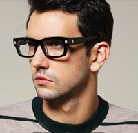 eyeglasses box - Theo Vintage Glasses Frame With Handmade Box Myopia Eyeglasses Limited Edition Thickening Fashional for Man