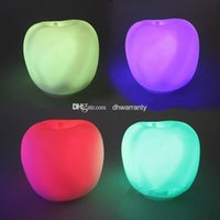 christmas lights color led - Hot Sale Apple Nightlight LED Lights Apples Apple Color Colorful Lights Christmas Valentines Day Gift Gift Packaging DHL Free