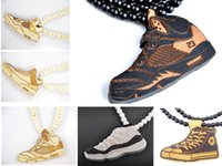 Pendant Necklaces goodwood - cheap hip hop jewelry Sport Team styles goodwood basketball football hockey baseball fashion good wood necklace