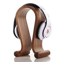 Wholesale Original SAMDI Wooden Holder For BEATS And Other Headsets Dark Light Color ROHS CE With Package