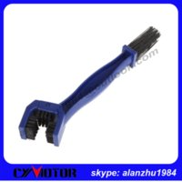 Wholesale Cycling Motorcycle Bicycle Chain Crankset Brush Cleaner Cleaning Tool Blue Red plastic motorcycle brush M52621