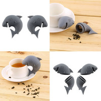 Wholesale 1pc New Silicone Tea Infuser Loose Tea Leaf Strainer Floating Filter Basket Loose Tea Leaf Balls Herbal Spice Coffee Tool