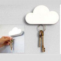 Wholesale Cool Cloud Shaped Magnetic Key Holder Cloud Key Holder holder charm stickers crane