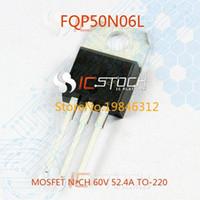 Wholesale FQP50N06L MOSFET N CH V A TO N06 FQP50N06