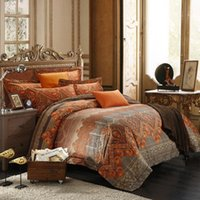 Wholesale 80S supima cotton luxury bedding sets queen king size bedsheet pillowcase comforter quilt duvet blanket case pc bed set