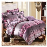 Wholesale 100 Twill Cotton Duvet Sets Elegant Colorful Printing Duvet Cover Quilt Cover Comforter Cover Sizes Available Post