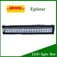 Wholesale 120W Epistar LED Work Light bar Inch LED W LM degree k for Jeep SUV ATV Off road Truck Universal XW