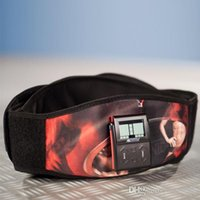 ab travel - HOT new version Ab Belt Electronic Abdominal Fitness belt Gym Fat Burning Work Out Weight Loss Slim fast shipping