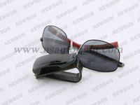 Cheap Hot Sale PC Car Vehicle Sun Visor Sunglasses Eyeglasses Glasses Holder Clip black