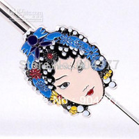 Bookmark beijing mix - Unique Beijing Opera Face Bookmarks Handcrafts Creative Chinese Gift with Packing box mix style