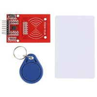 Wholesale RC RC522 RFID IC Card Inductive Module with Card Key Chain DBP_701