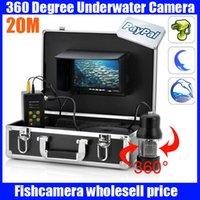 underwater fishing camera - 20m Degree View Remote Control SONY CCD Underwater Fishing Camera with Inch LCD moniot box
