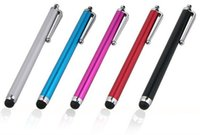 Wholesale Touch Pen for capacitive screen Universal Capacitive Stylus pen tablet For Phone Tablet for Kindle for Samsung for iPhone