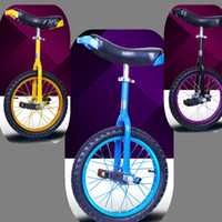 Wholesale High Quality Unicycle Inch One Wheel Bicycle Bike Cycling Outdoor Extreme Sports Bike Unicycle For Kids Adult Color A3
