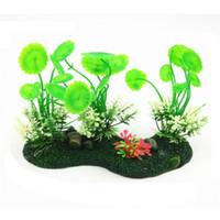 Wholesale PVC Simulation Fish Tank Water Grass Plant Aquarium Plant Artificial Decoration Landscaping Weeds Ornament cm