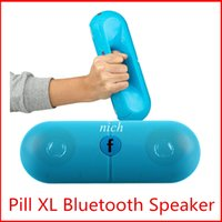 audio line cards - Pill XL Speaker bluetooth speaker XL pill Speaker bluetooth speaker Pill XL with Retail box for tablet PSP iphone6 HTC samsung ipad MP4