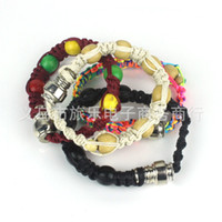 Wholesale stash bracelet Stealth Pipe click n vape incognito bracelet smoking pipe for tobacco weed discreet sneak a toke