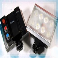 Wholesale ILIN QL A8 LED Video Light Camera Camcorder Lighting lights flash light for shoot photogra