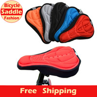 Wholesale Bicycle Saddle of Bicycle Parts Cycling Seat Mat Comfortable Cushion Soft Seat Cover For Bike Seat Cushion MBI