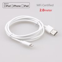 airs certified - Original Apple MFi Certified Lightning pin to USB Date Sync Charging Charger Cable for iPhone Plus S c iPad Air mini Round cm