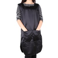 work apron - Hairdressing Cape Hair Care Styling Tools Salon Double Faced Apron Barber Work Wear Cloth Hairdresser Tool Cap H13855