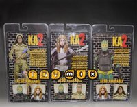 Wholesale 3sets set Kick Ass Hit Girl Colonel Stars Armored KA PVC Action Figure Collectible Toys tt19429681194 hql
