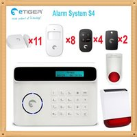 Wholesale DHL Euro market popular smart home system environmental solar powered alarm systems wireless MHz