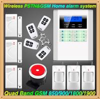 anti theif alarm - Wireless GSM PSTN Home Security Burglar Voice PIR anti theif Alarm System Motion Detector Sensor