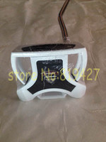 Wholesale 1pc New Ghost spider golf putter inch right hand golf clubs putters with steel shaft free headcover
