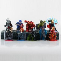 age of war - Avengers Age of Ultron set PVC Magnetic Figure Toys Thor Hulk Iron Man Captain America Black Widow Hawkeye